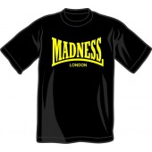 T-Shirt 'Madness' black, all sizes
