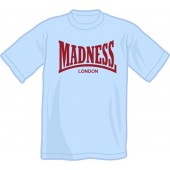 T-Shirt 'Madness' yellow, all sizes