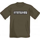 T-Shirt 'Intensified' all sizes