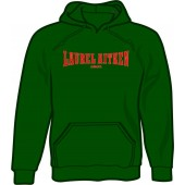 hooded jumper 'Laurel Aitken green' all sizes