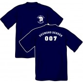 T-Shirt 'Desmond Dekker - 007' all sizes blue
