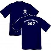 T-Shirt 'Desmond Dekker - 007' all sizes blue