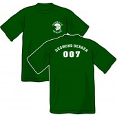 T-shirt 'Desmond Dekker - 007' all sizes green