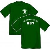 T-shirt 'Desmond Dekker - 007' all sizes green