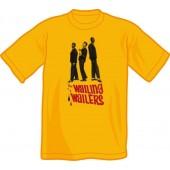 T-Shirt 'Wailers' yellow, sizes S, M, L, XXL