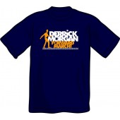 T-Shirt 'Derrick Morgan - Forward March' dunkelblau, Gr. S