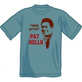 T-Shirt 'Pat Kelly - Reggay Got Soul' steel blue, all sizes