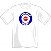 T-Shirt 'Skinhead Reggae 1969' white all sizes