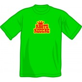 T-Shirt 'Roots Reggae' kelly green - sizes S - 2XL