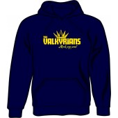hooded jumper 'Valkyrians' navy, sizes S - XXL