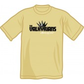 T-Shirt 'Valkyrians' sand, sizes S - XXL