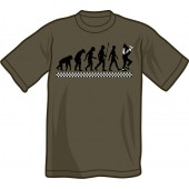 T-Shirt 'Evolution Of Ska' charcoal - sizes S - XXL
