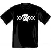 T-Shirt 'Trojan 2 Tone' black - sizes S - 3XL