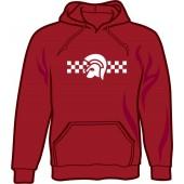 hooded jumper 'Trojan 2 Tone' burgundy - sizes S - XXL