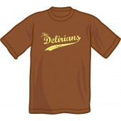 T-Shirt 'Delirians' chestnut brown - sizes S - XXL