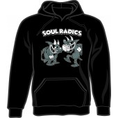 hooded jumper 'Soul Radics - Two Devils' black - sizes S - 3XL