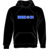hooded jumper 'Tighten Up!' black - sizes S - 3XL