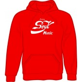 hooded jumper 'Enjoy Soul Music' all sizes