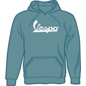 hooded jumper 'Vespa steel blue' all sizes