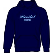 hooded jumper 'Revilot Records navy' all sizes