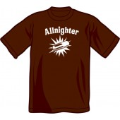 T-Shirt 'Allnighter' different colours all sizes