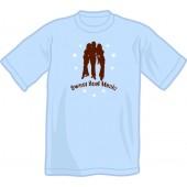 T-Shirt 'Sweet Soul Music' light blue, all sizes