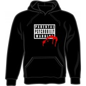 hooded jumper 'Parental Warning: Psychobilly' black, all sizes