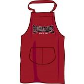 BBQ apron 'Rocksteady Since 1967', burgundy