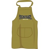BBQ apron 'Rocksteady Since 1967', olive green