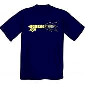 T-Shirt 'Rocksteady Gun' navy, sizes S - XXL