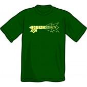 T-Shirt 'Rocksteady Gun' bottle green, sizes S - XXL