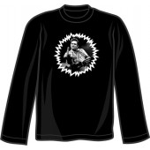 long sleeve shirt 'F***finger' black, all sizes