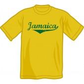 T-Shirt 'Jamaica - Vintage' black, sizes S, M, L