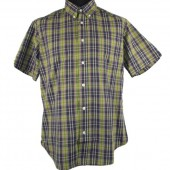 Warrior British Vintage Button Down 'Sound Affects - Start', sizes M, L