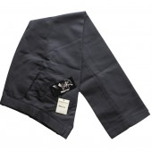 Warrior Vintage Sta Prest Trousers Navy, size 34