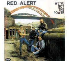 Red Alert 'We've Got The Power' LP clear vinyl