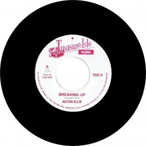 "Ellis, Alton 'Breaking Up' + 'Version'  jamaica 7""  back in stock!"