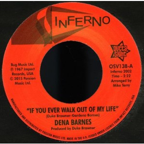 """Barnes, Dena 'If You Ever Walk Out Of My Life' + 'Who Am I'  7"""""""