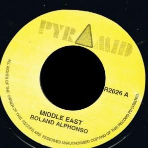 "Alphonso, Roland 'Middle East' + 'Jungle Bit'  7"""