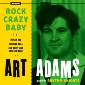 "Adams, Art 'Rock Crazy Baby' EP  7"""
