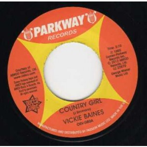 """Baines, Vickie 'Country Girl' + 'Are You Kidding'  7"""""""