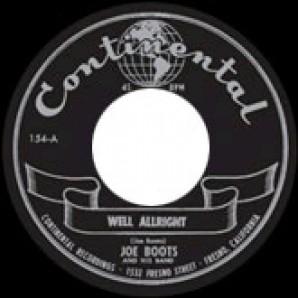 "Boots, Joe 'Well Allright' + 'Rock'n'Roll Jungle Girl'  7"""