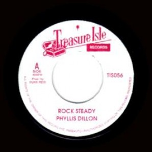 """Dillon, Phyllis 'Rock Steady' + Tommy McCook & The Supersonics 'Soul Rock'  jamaica 7""""  back in stock!"""
