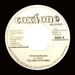 """Alphonso, Roland 'Four Corners' + Lassel & Dimples 'Love Or Be Loved' jamaica 7"""""""