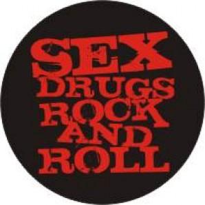 free for orders over  50 €: fridge magnet 'Sex, Drugs & Rock & Roll'