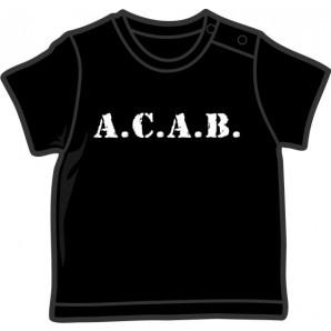 Baby Shirt 'A.C.A.B.'5 sizes