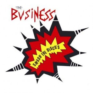 Business 'Smash the Discos - Clear Vinyl'  LP