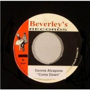 """Alcapone, Dennis 'Come Down'  + 'Version' 7"""""""