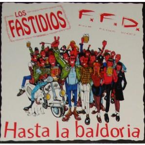 Los Fastidios / F.F.D. 'Hasta La Baldoria' LP red vinyl