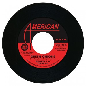"Booker T . & M.G.'s 'Green Onions'  + The Mar-Kets 'Balboa Blue'  7"""